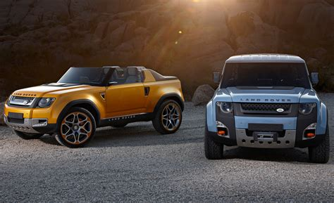 land rover dc100 land rover bringing slightly altered dc100 concepts to l a