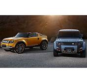 Land Rover Bringing Slightly Altered DC100 Concepts To LA