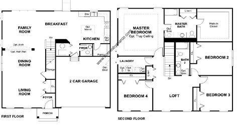 floor plans melbourne melbourne model in the hunt club subdivision in oswego
