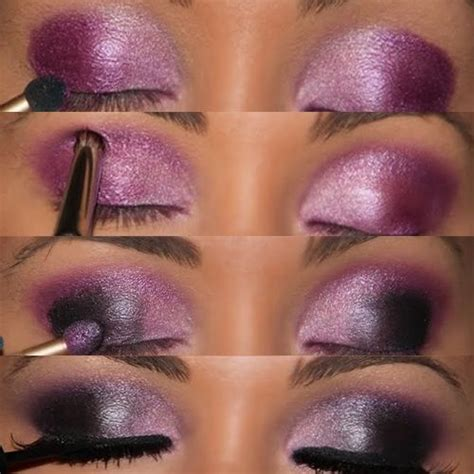 eyeshadow tutorial plum tutorial smokey plum beautiful makeup pinterest