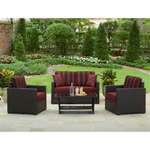 patio conversation sets 300 better homes and gardens valley 4 outdoor