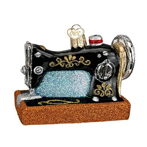 sewing machine christmas ornaments diy crush