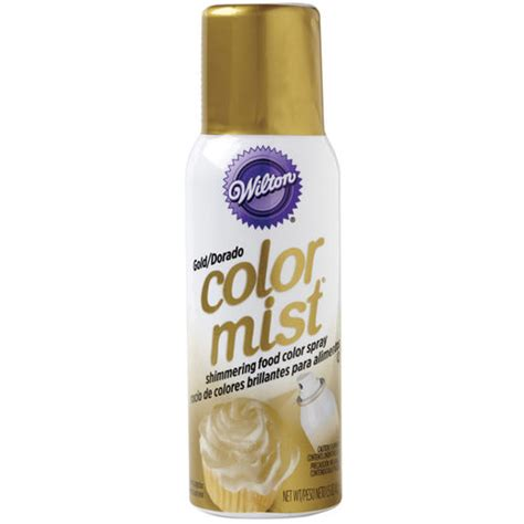 wilton color mist gold color mist food color spray wilton