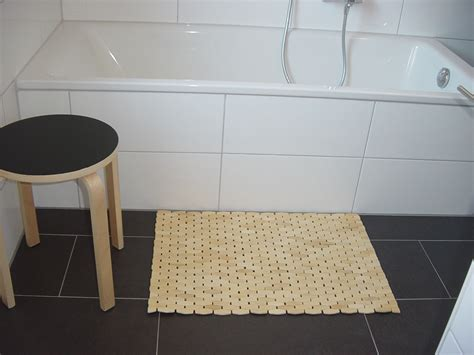 Ikea Bamboo Bath Mat Sonoteak Premium Teak Frameless Bath Mat Wayfair Cotton Checkers 2 Bath Rug Set The
