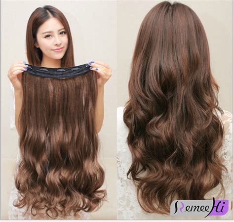 single clip in human hair extensions one wavy remy 100 human hair clip in human