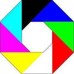 colorful octagon clip art at clker com vector clip art