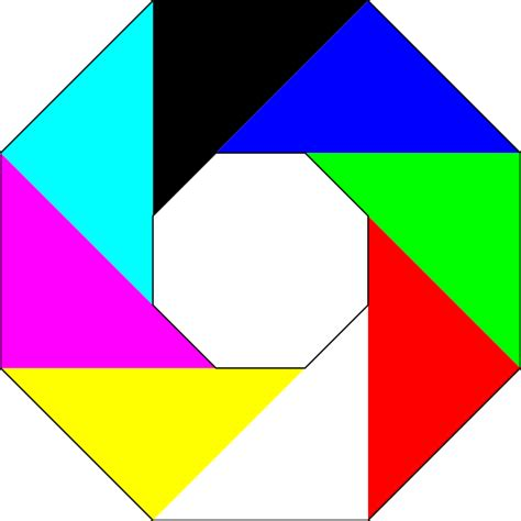 picture of octagon colorful octagon clip art at clker com vector clip art
