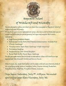 Hogwarts Letter Template by The Why Potter Palooza