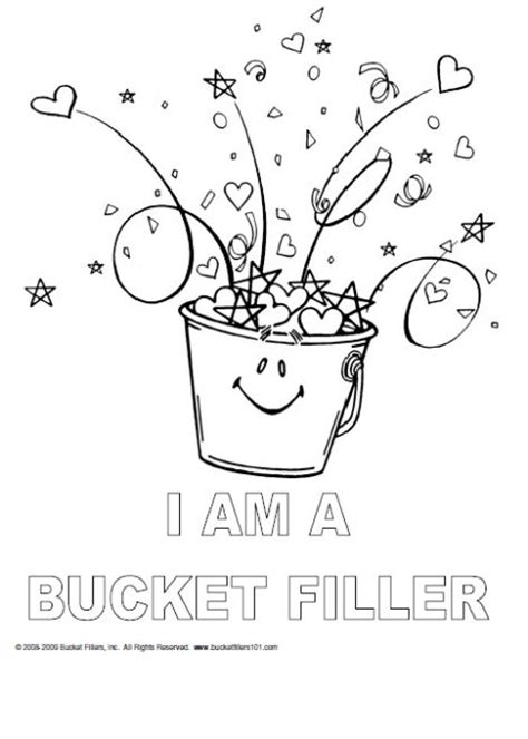 have you filled a bucket today activities recommends