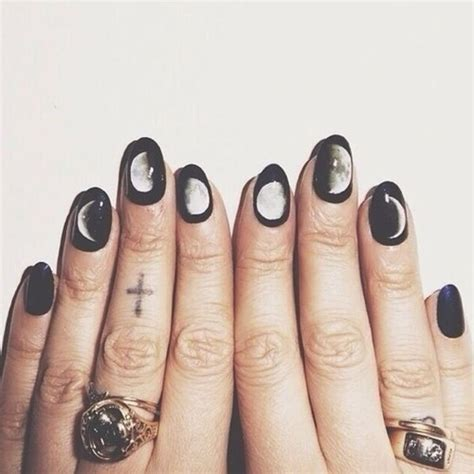 PHASES of the MOON nail decals Feminine MYSTIQUE by