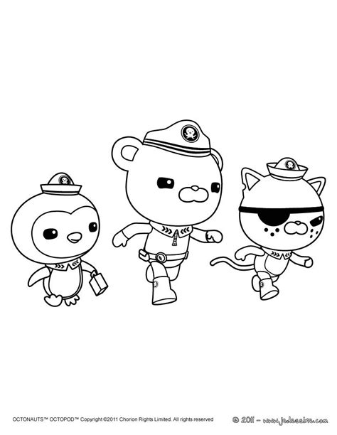 octonauts coloring pages free coloring pages of peso octonauts