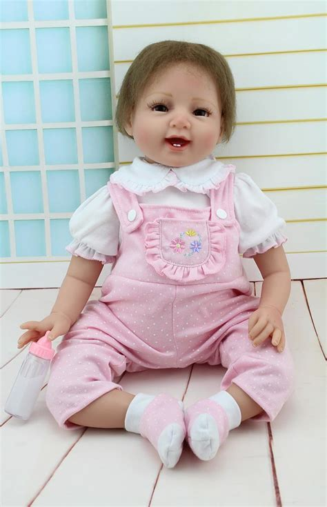 doll for sale soft silicone baby reborn doll for sale 22 inch smiling