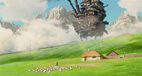 hayao miyazaki studio ghibli anime howls moving castle