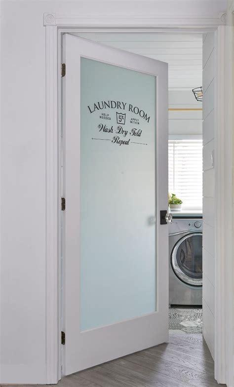 glass panel interior laundry door best 20 glass doors ideas on