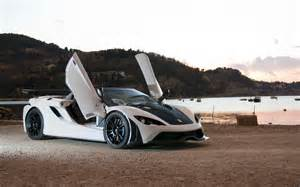 Lamborghini Scissor Doors Slovenian Tushek T700 Wants To Fight Aventador With 700hp