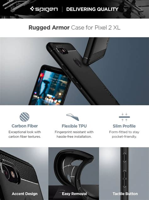 Spigen Rugged Armor Pixel Xl Black Promo spigen 174 rugged armor f17cs22279 pixel 2 xl