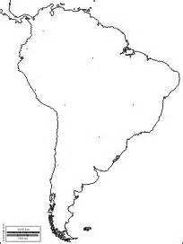 south america blank map blank map of south america