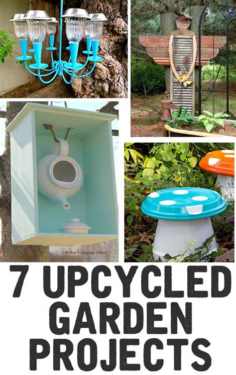 upcycled garden ideas 7 upcycled garden projects the shabby creek cottage