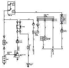 Toyota Hilux Brake System Diagram Toyota 4runner Hilux Surf Wiring Diagram Electrical System