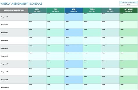 monthly meeting schedule template template meetings schedule template