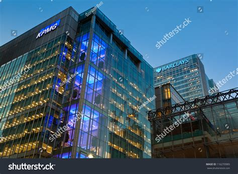 kpmg canary wharf stock photos kpmg canary wharf stock london england oct 12 kpmg uk stock photo 116270989