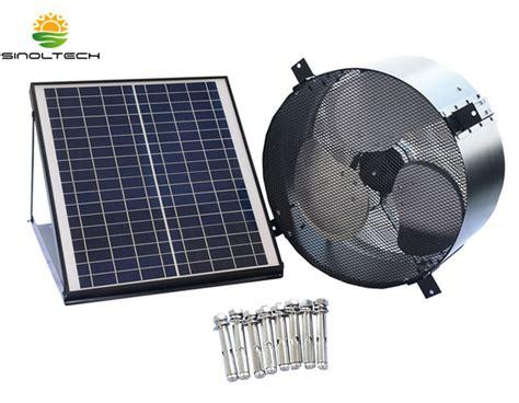 14 inch wall fan 15w solar pv 14 inch wall mount gabel fan