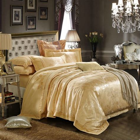 gold bed comforters online get cheap gold comforter queen aliexpress com
