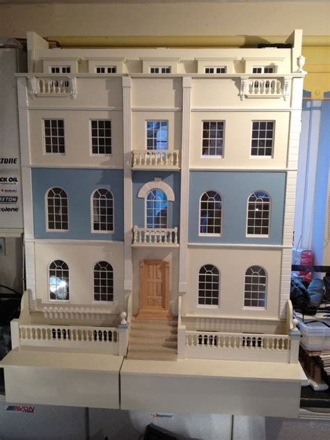georgian dolls house for sale huge craftsman made georgian dolls house for sale the dolls house exchange jt like