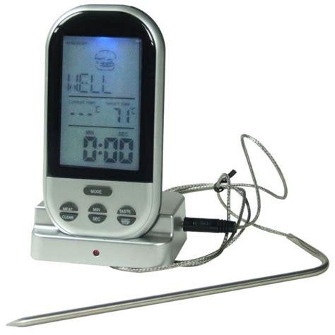 sonde de cuisine yoko design thermo sonde de cuisson sans fil achat