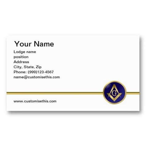 freemason business card templates illustrator template 1000 images about freemason masonic business cards