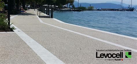 ghiaia stabilizzata pavimentazioni per esterni in cls effetto ghiaia levofloor