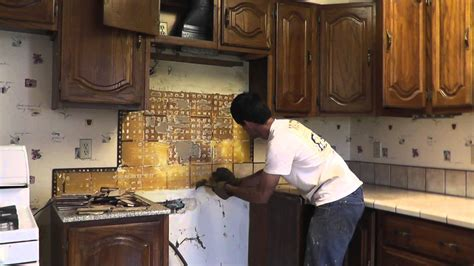 Installing Granite Countertop by How To Install Granite Countertops On A Budget Part 1
