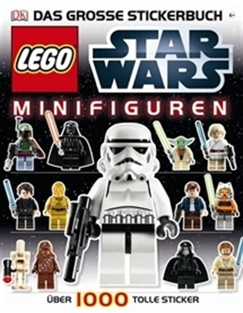 Sticker Drucken Potsdam by Lego 174 Star Wars Minifiguren Das Gro 223 E Stickerbuch Miwarz
