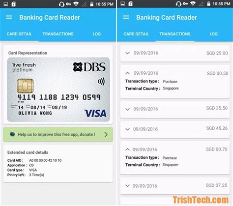 credit card apps for android read your credit card data using credit card reader nfc app in android