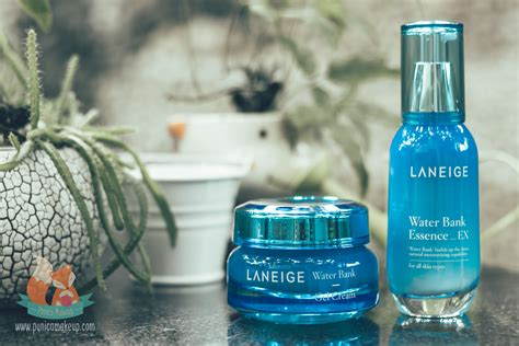 Laneige Water Essence review laneige water bank essence ex punica makeup