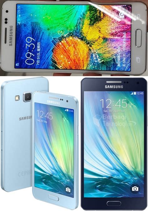 Hp Samsung A3 Dan A5 Samsung Galaxy A5 Dan Galaxy A3 Ponsel Selfie Murah