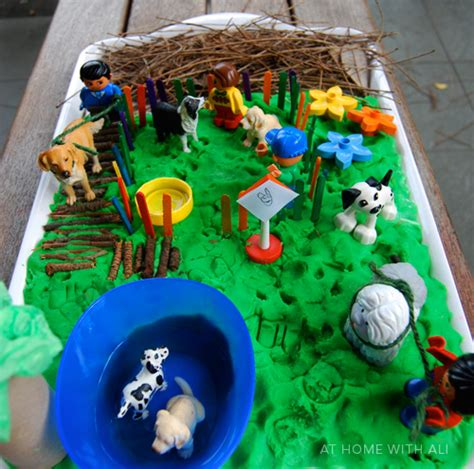 how to build a dog park in your backyard at home with ali big and little dog park world