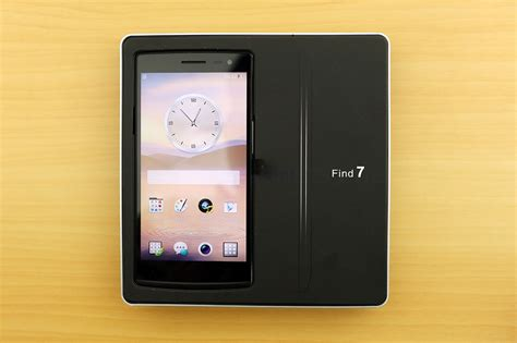 Find With Oppo Find 7 Unboxing