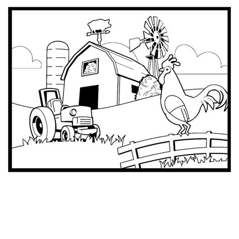 17 best ideas about farm coloring pages on pinterest