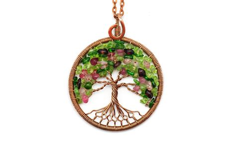 how to make tree of jewelry tree of necklace pendant tree of jewelry family tree