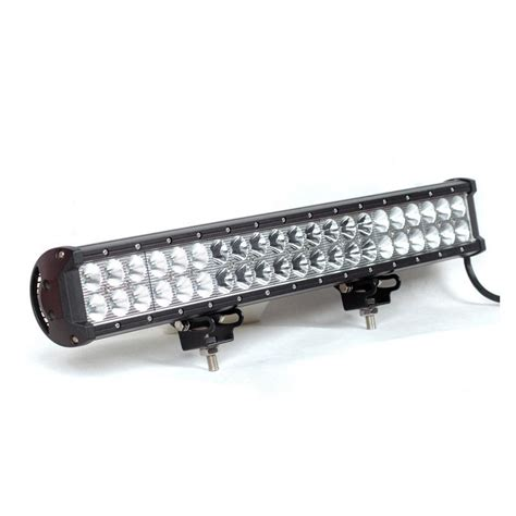 led light bar for boats 20 quot 126w aluminum heavy duty led light bar for