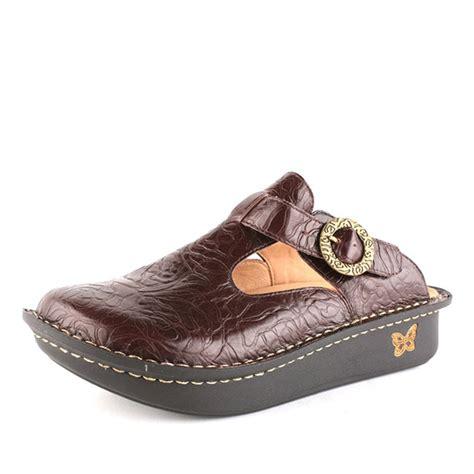 alegria shoes alegria classic brown emboss alegria shoe shop