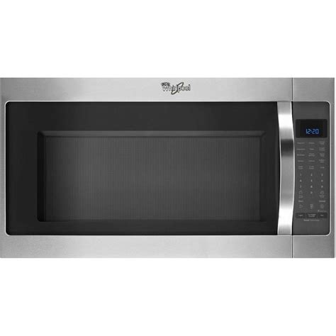 whirlpool 2 0 cu ft the range microwave in