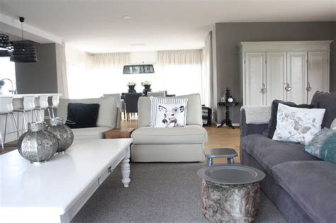Houzz White Living Rooms by Houzz Country Chic Family Home In The Netherlands
