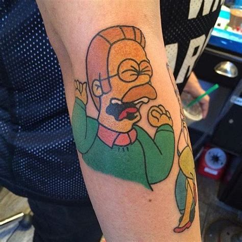 tattoo simpsons instagram 741 best images about simpson s tattoos ideas on pinterest
