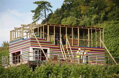 wood lego house house being built entirely out of legos and wood in the uk