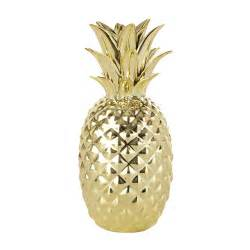 Teen Chairs For Bedroom - gold pineapple ornament h 23 cm maisons du monde