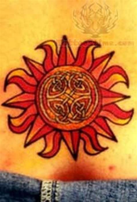 colorful sun tattoo designs 73 modern sun tattoos for back