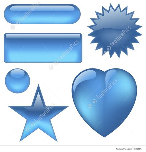 clipart aqua button buttons aqua stock illustration i1268514 at featurepics