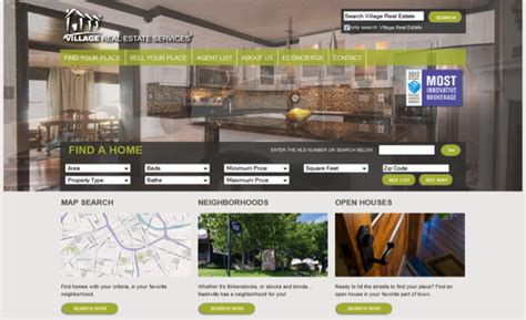 Home Design Websites - 10 fantastic real estate web designs accrisoft